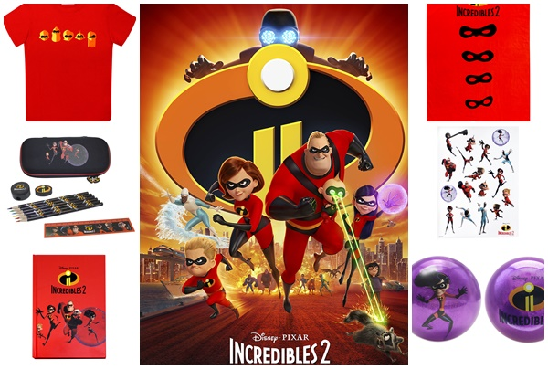 INCREDIBLES COMPETITION